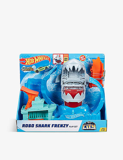 HOTWHEELS: Robo Shark Frenzy play set
