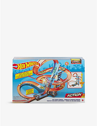 HOTWHEELS: Sky Crash Tower playset