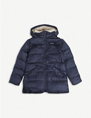 PATAGONIA: Logo-patch down parka jacket 5-14 years