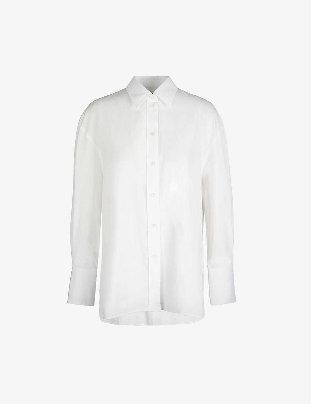 JOSEPH: Baji relaxed-fit cotton-poplin shirt