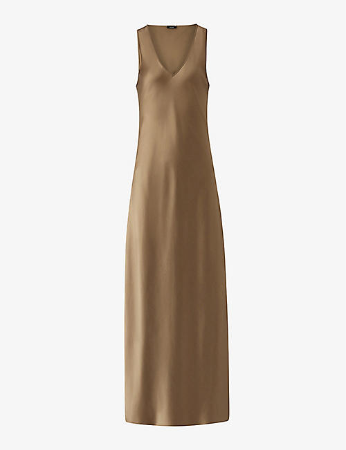 JOSEPH: Daris silk maxi dress
