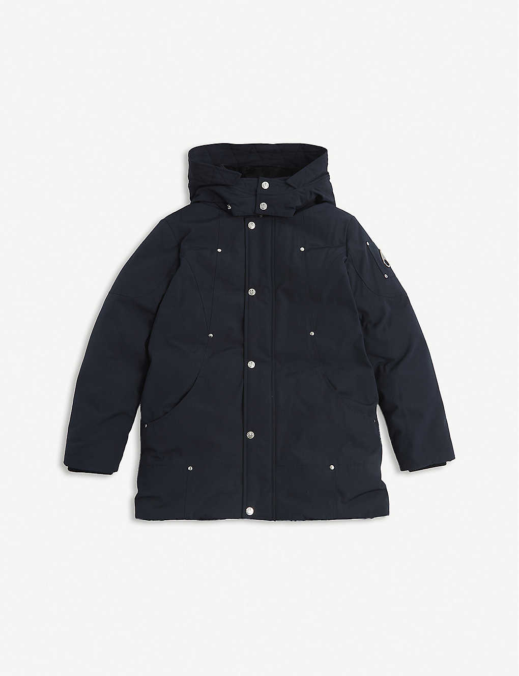 MOOSE KNUCKLES: Poly-cotton parka coat 7-16 years