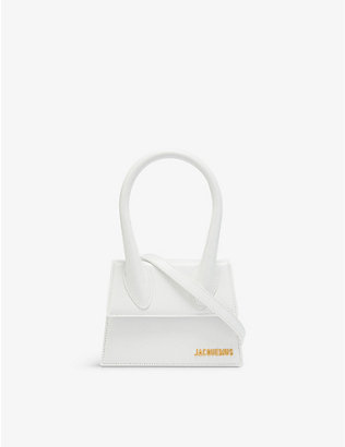 JACQUEMUS: Le Chiquito medium leather top handle bag