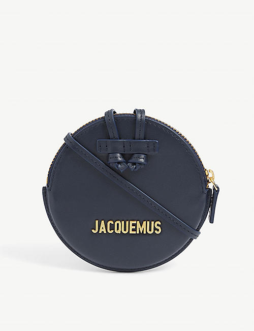 JACQUEMUS: Le Pitchou leather cross-body coin purse