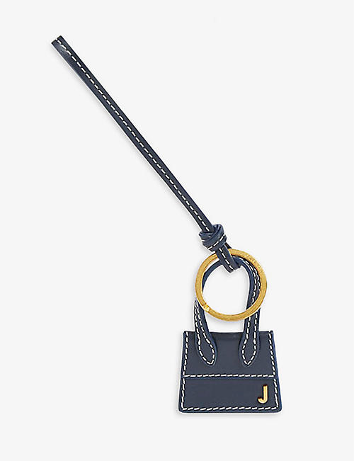 JACQUEMUS: Le Chiquito leather key ring