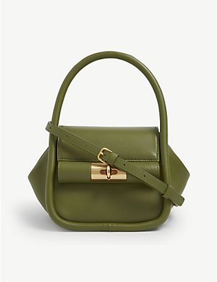 GU DE: Love leather top-handle bag