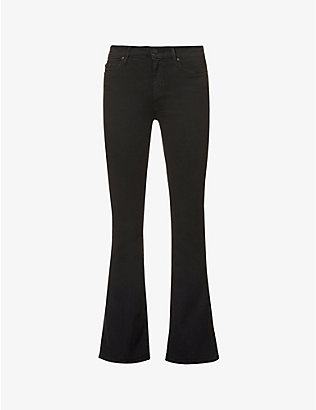 MOTHER: The Weekender slim-fit mid-rise jeans
