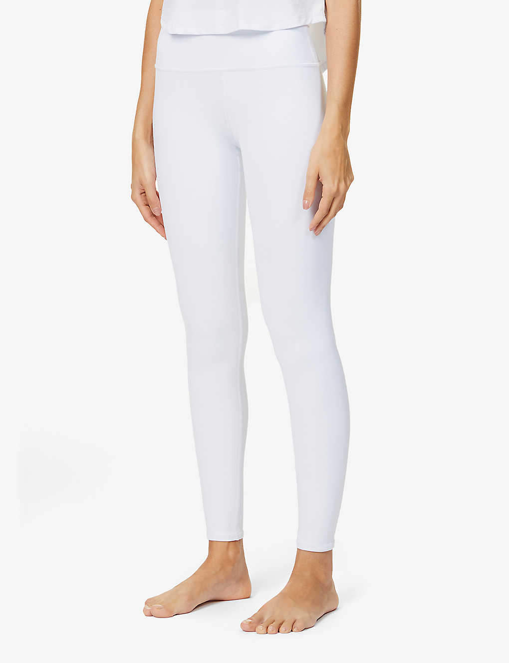 ALO YOGA: Airbrush high-rise stretch-jersey leggings
