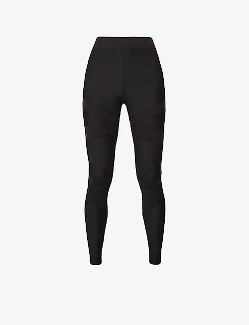 ALO YOGA: Level Up high-rise stretch-jersey leggings