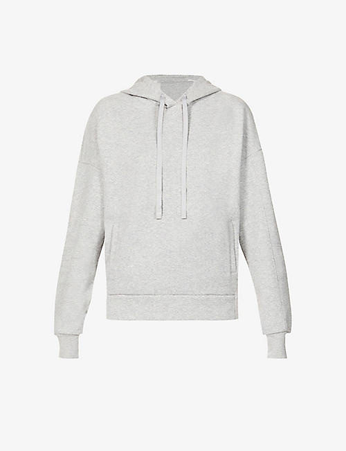 ALO YOGA: Interval branded cotton-blend hoody