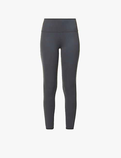 ALO YOGA: 7/8 Airbrush high-rise stretch-jersey leggings