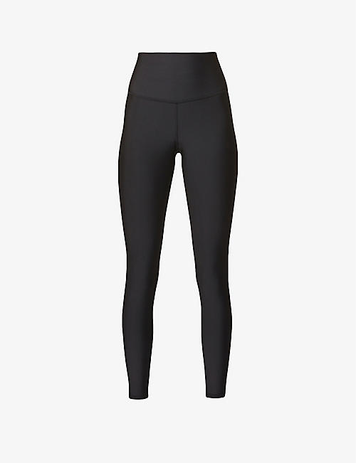 ALO YOGA: 7/8 Airlift high-rise stretch-woven leggings