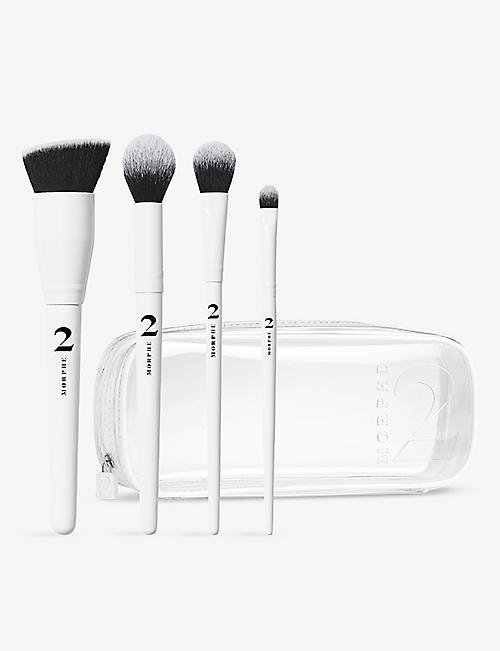 MORPHE: Morphe 2 The Sweep Life four-piece brush collection and bag