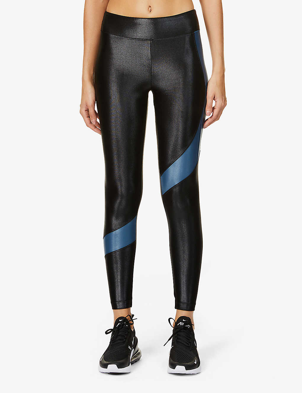 KORAL: Pista Infinity high-rise stretch-jersey leggings