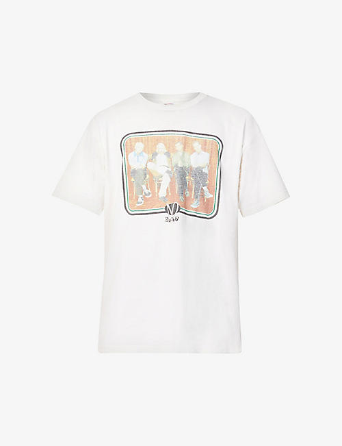 NOT APPLICABLE: Vintage No Doubt graphic-print cotton-jersey T-shirt
