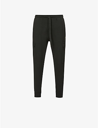 TRUE RELIGION: Cargo jersey jogging bottoms