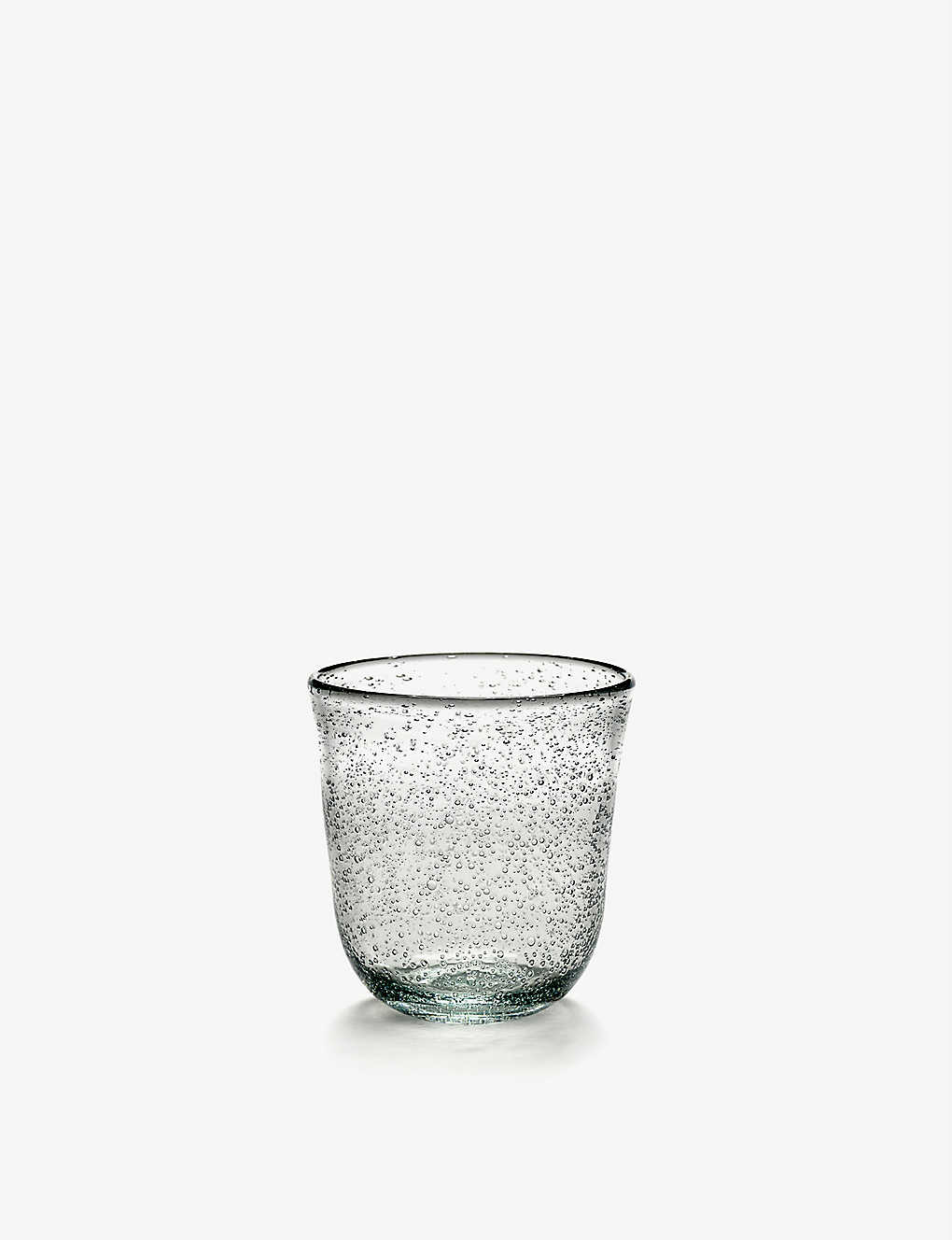 SERAX: Pure glass tumbler 9cm