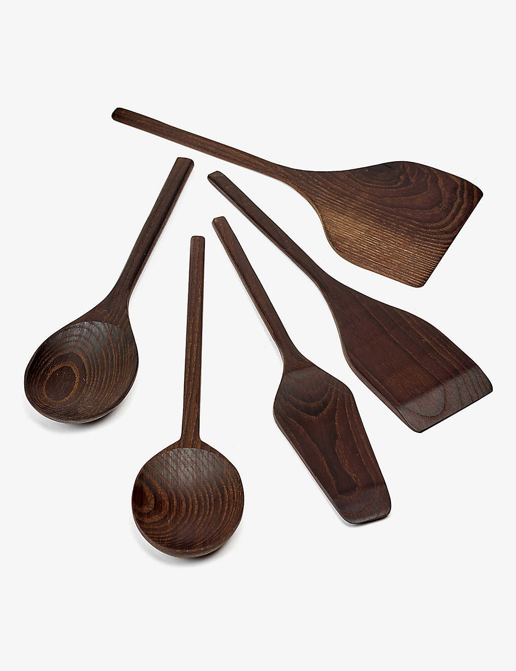 SERAX: Pure carbonised ash kitchen tools set of five