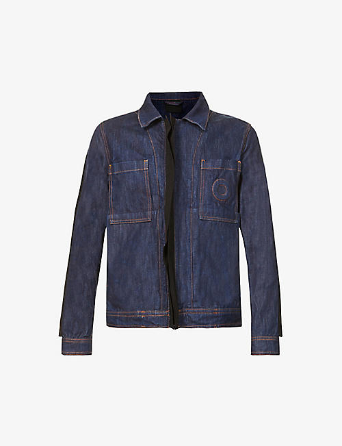 CRAIG GREEN: Pre-loved Worker Fin denim jacket