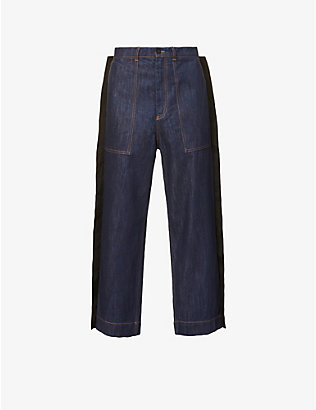 CRAIG GREEN: Pre-Loved Craig Green Worker Fin straight-leg jeans