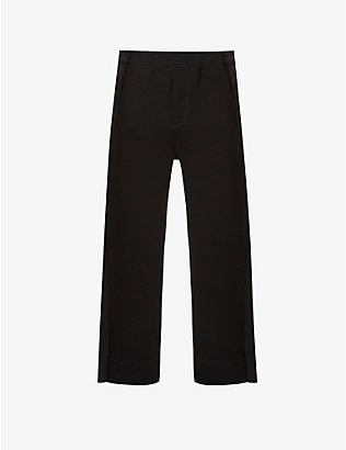 CRAIG GREEN: Pre-loved bonded tapered-leg stretch-jersey jogging bottoms