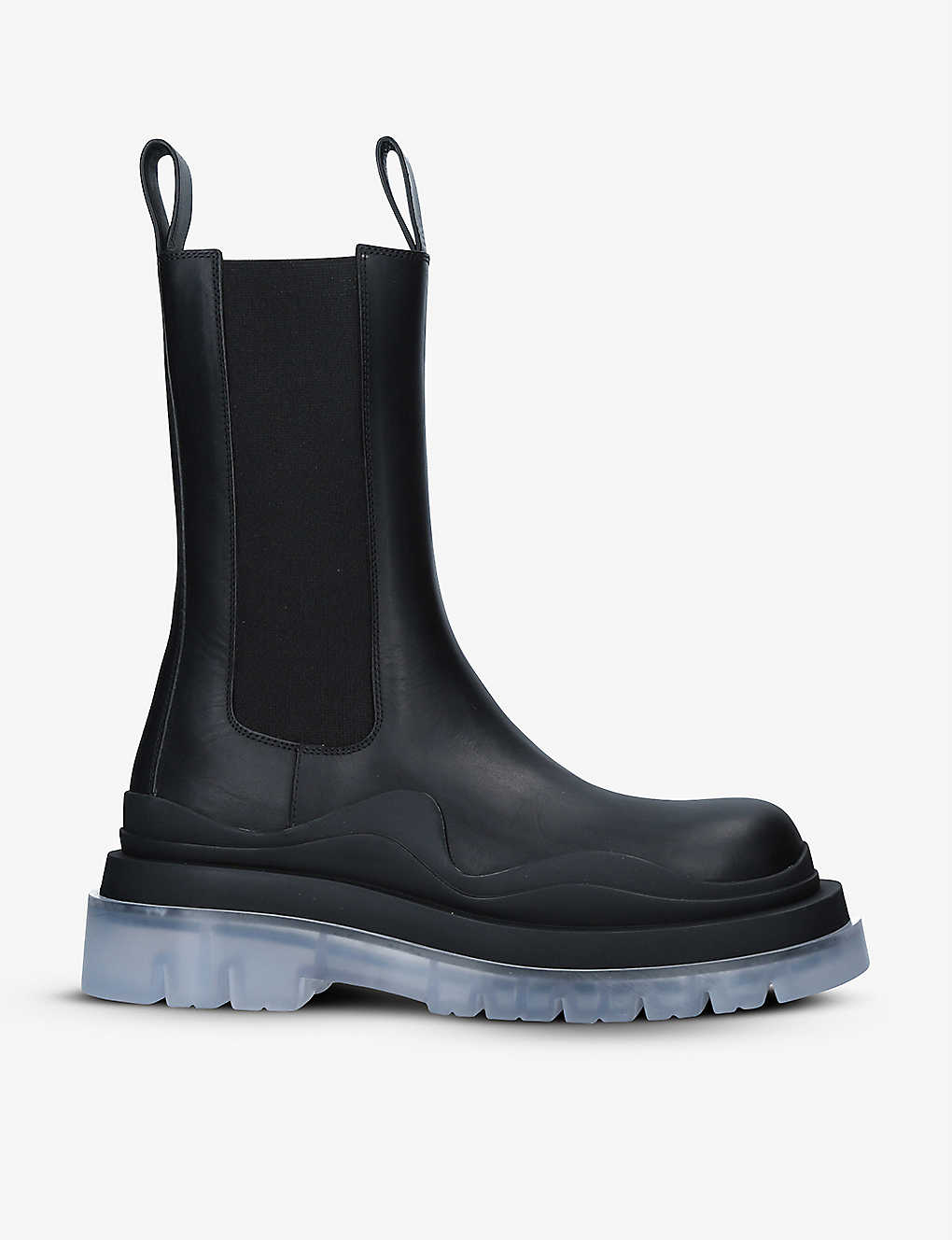BOTTEGA VENETA: Tire Biker leather ankle boots