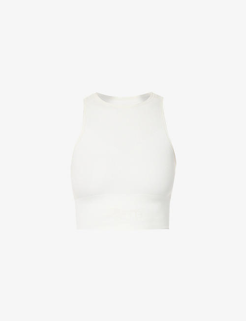 REEBOK X VICTORIA BECKHAM: Seamless stretch-knit crop top