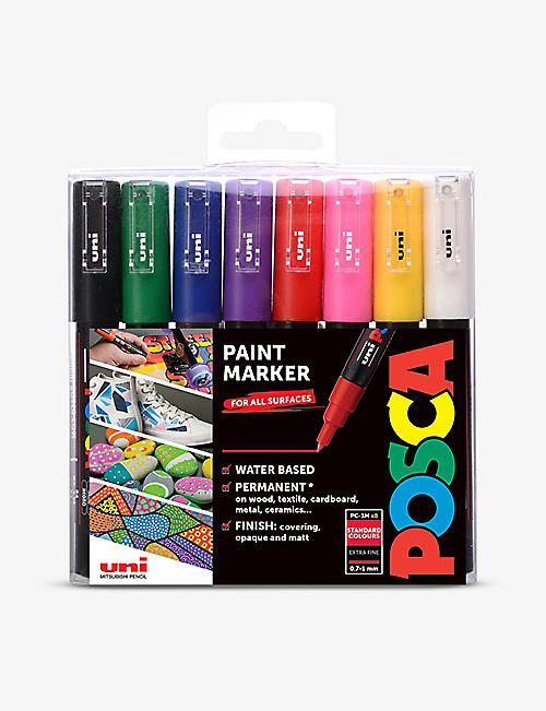 POSCA: PC-1M marker pens starter set pack of eight