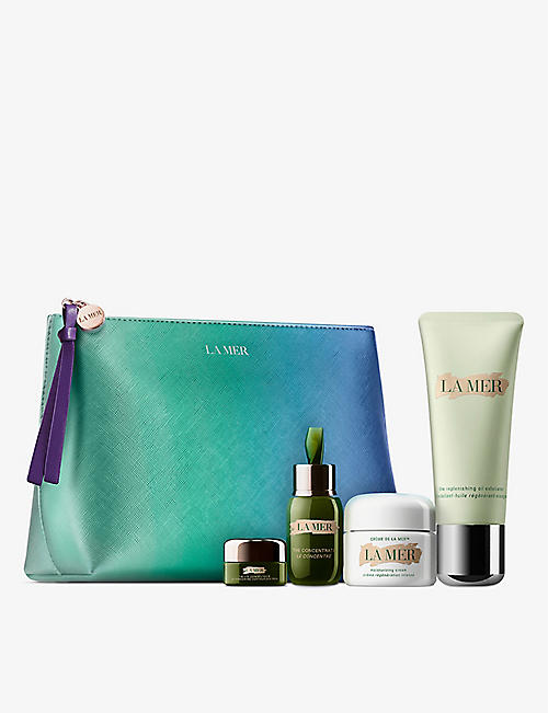 LA MER: The Replenishing Moisture collection