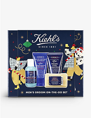 KIEHL'S: Men's Groom On The Go Essentials gift set
