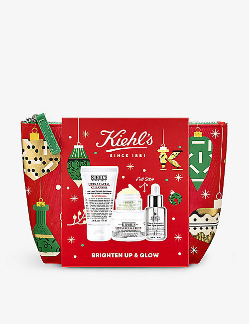 KIEHL'S: Brighten Up & Glow kit