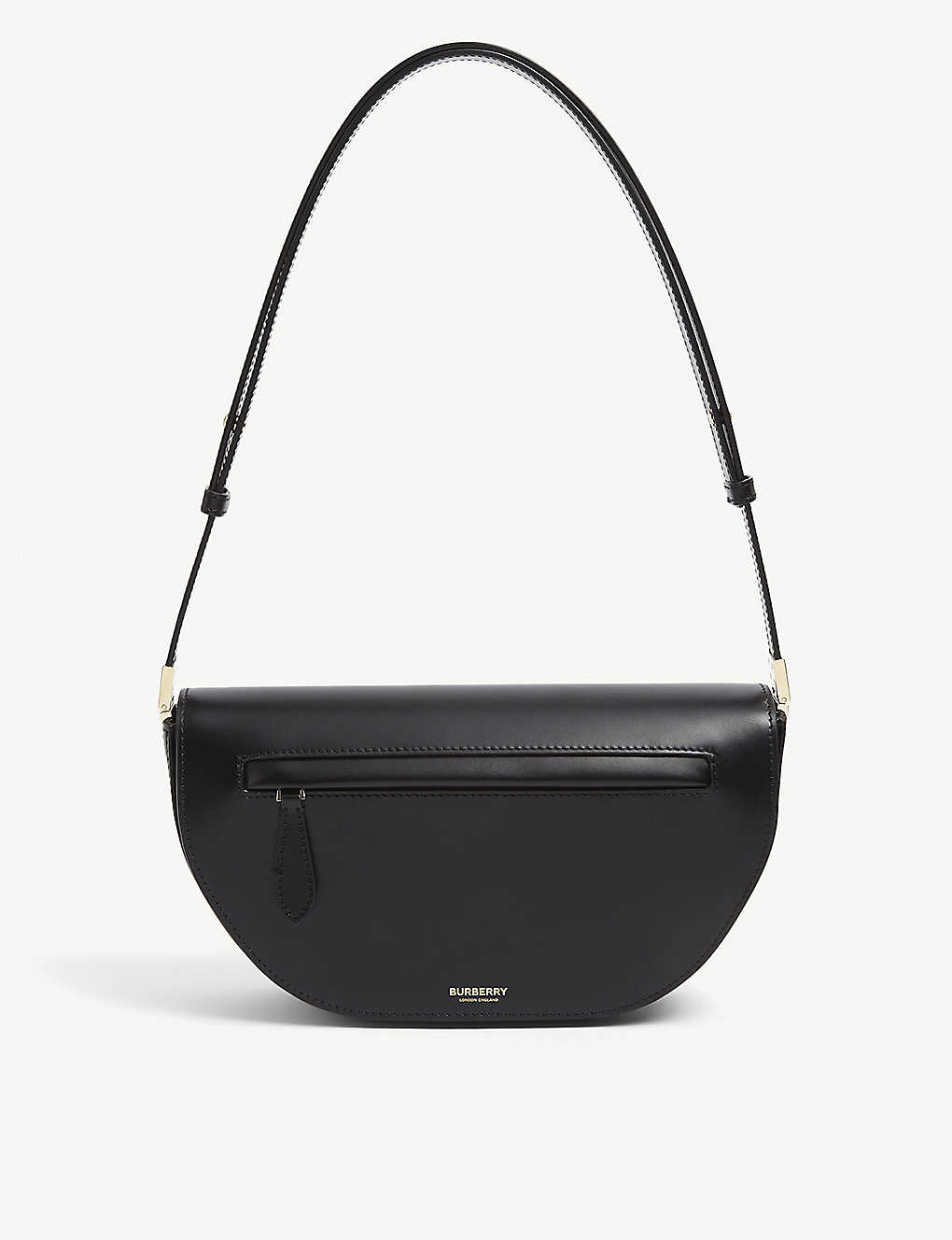 BURBERRY: Olympia small leather shoulder bag