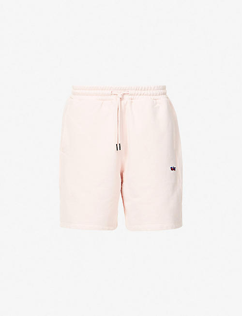 RUSSELL ATHLETIC: Bucky relaxed-fit organic-cotton shorts