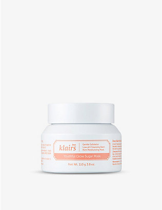 KLAIRS: Youthful Glow Sugar mask 110g