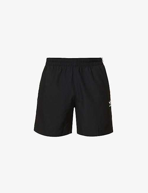 ADIDAS: Three-stripe shell shorts