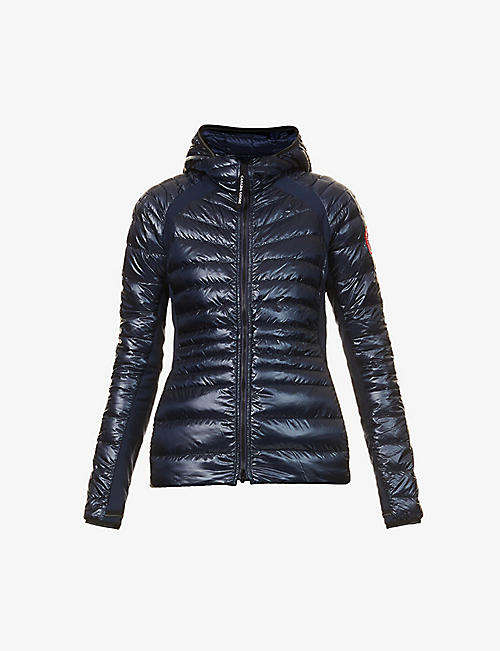 CANADA GOOSE: Hybridge Lite hooded shell-down jacket