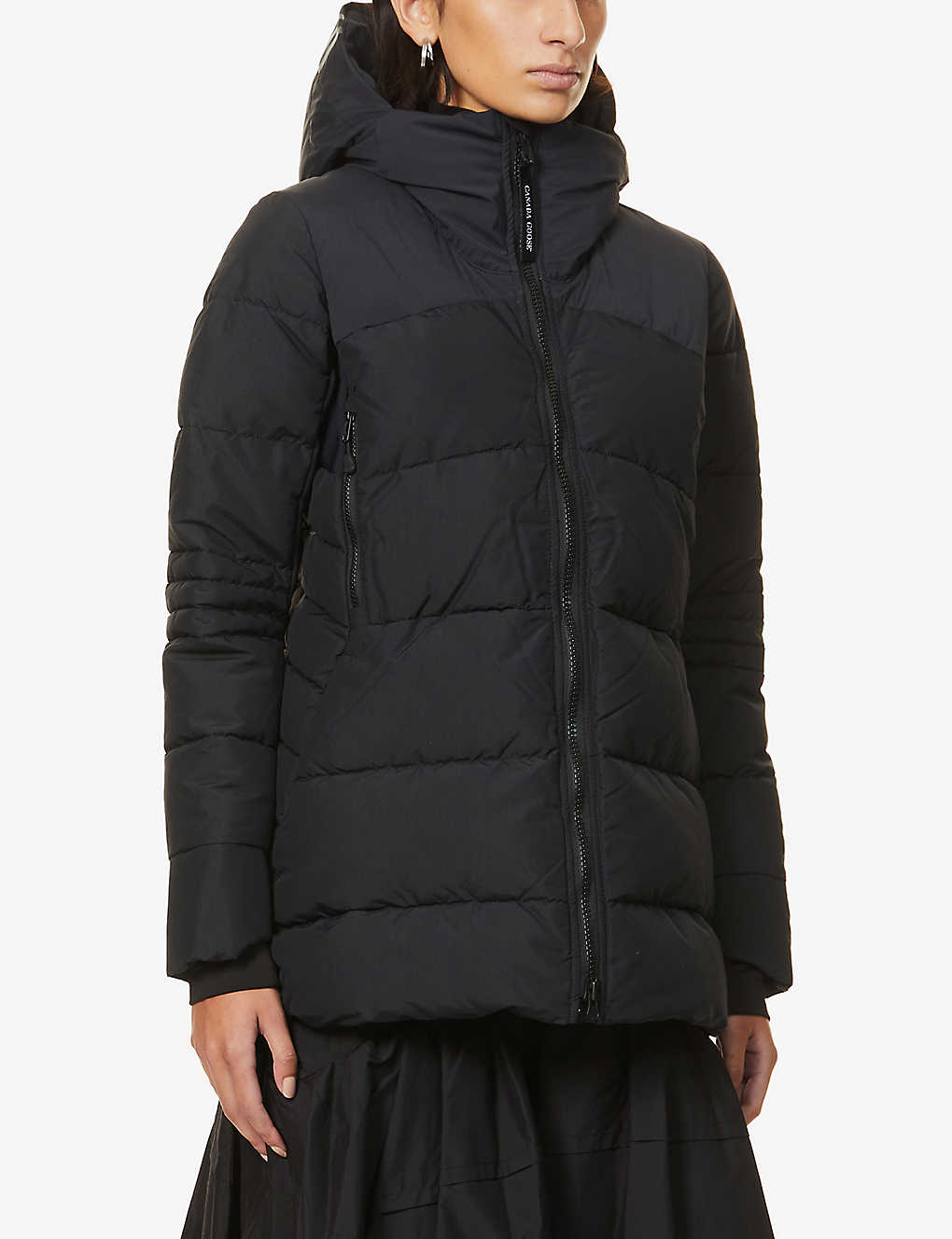 CANADA GOOSE: HyBridge padded shell-down coat