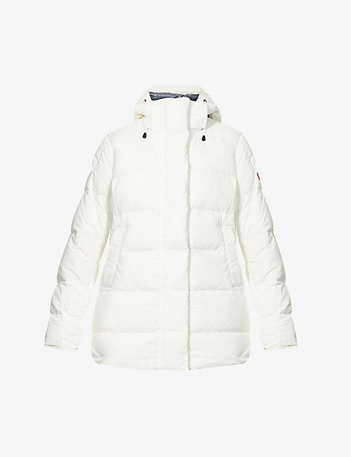 CANADA GOOSE: Alliston padded shell-down jacket