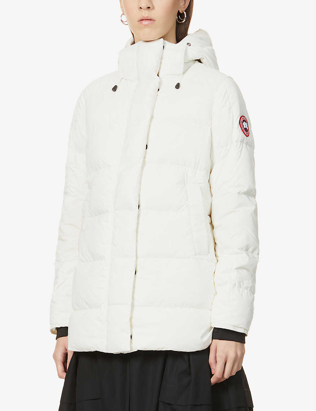 CANADA GOOSE: Alliston padded shell-down coat