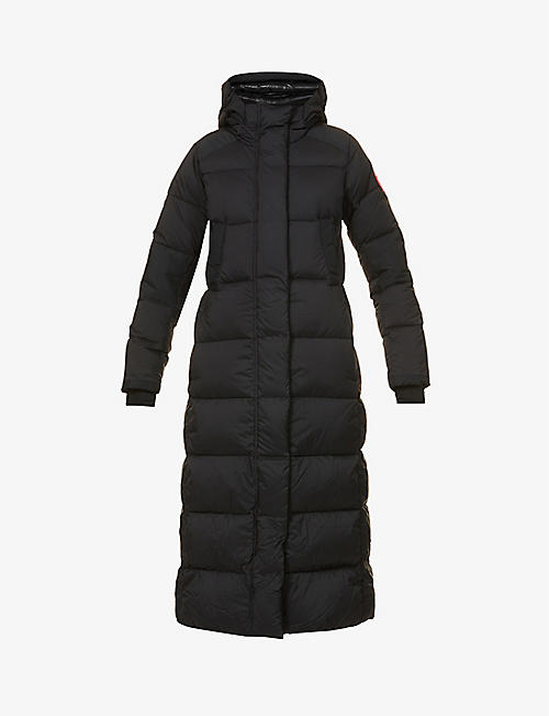 CANADA GOOSE: Alliston padded shell-down parka