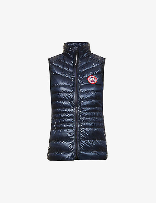 CANADA GOOSE: Hybridge funnel-neck shell-down gilet