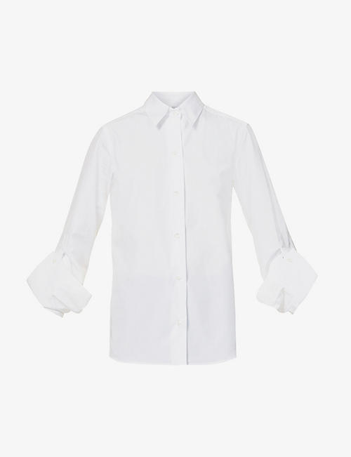 GABRIELA COLL G: Relaxed-fit cotton shirt