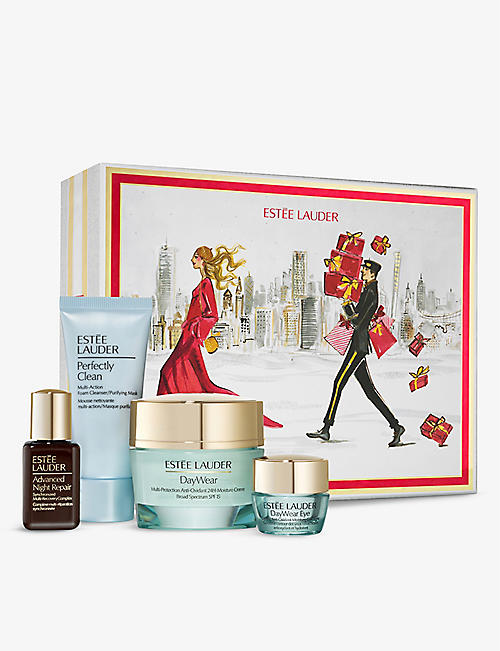 ESTEE LAUDER: Protect and Hydrate Skincare Collection gift set
