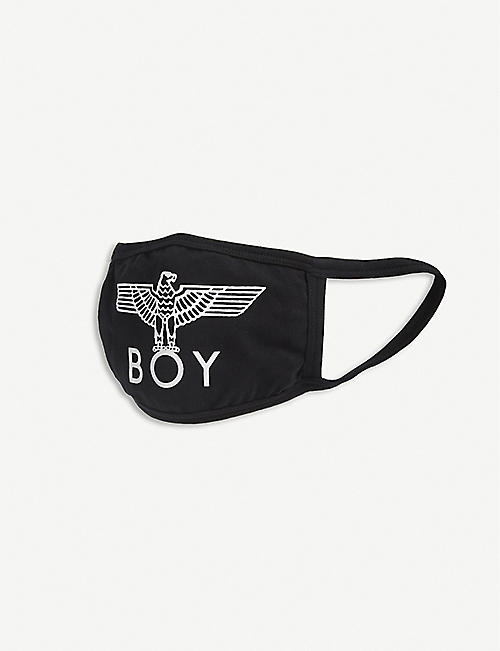 BOY LONDON: Brand-print cotton face covering