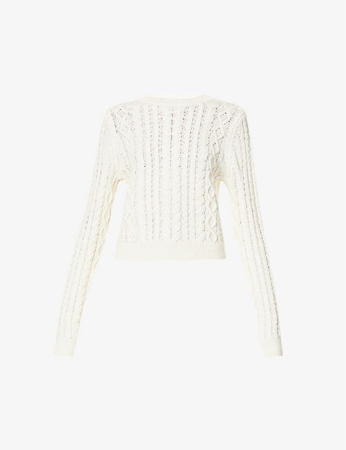 REFORMATION: Dauphine organic-cotton jumper
