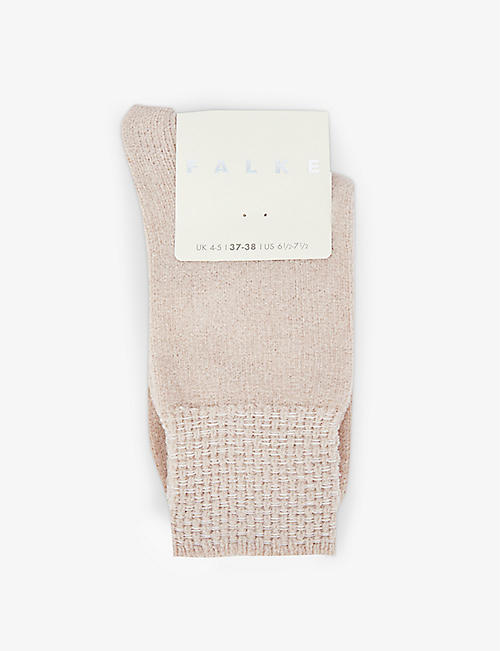 FALKE: Teddy cotton-blend socks