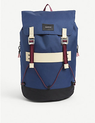 SANDQVIST: Johannes recycled-polyester canvas backpack