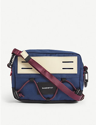 SANDQVIST: Douglas recycled-polyester canvas bag