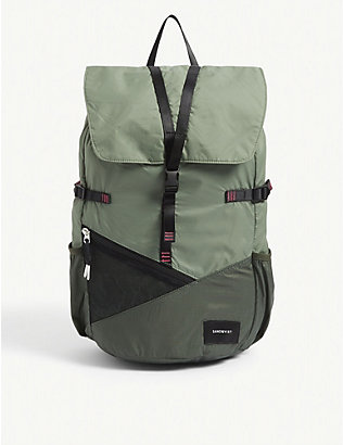 SANDQVIST: Kasper recycled nylon backpack