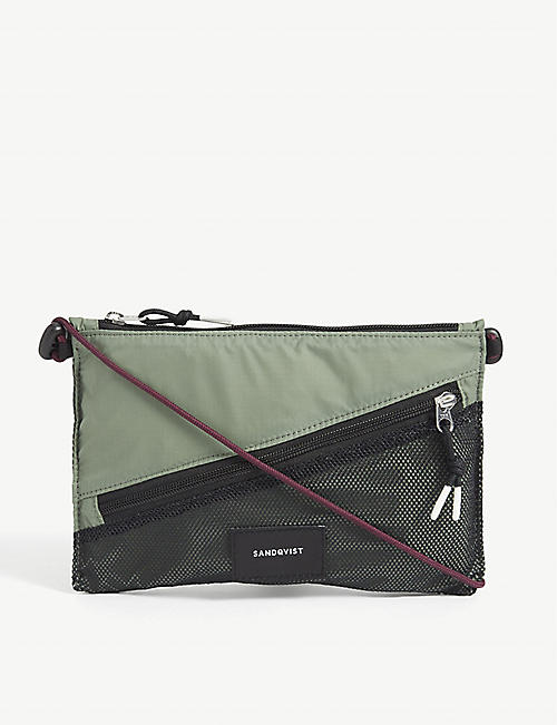 SANDQVIST: Dan recycled nylon cross-body bag